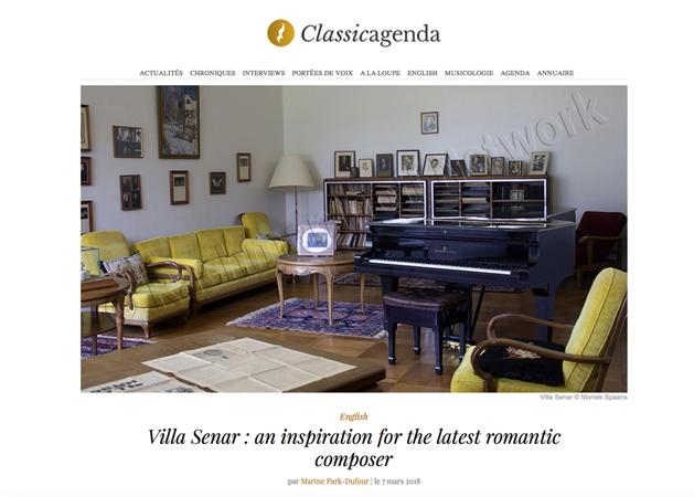Werkruimte Rachmaninoff Senar (2018)