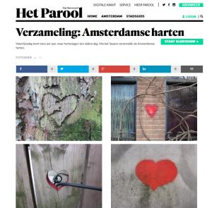 verzameling amsterdamse harten